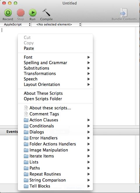 Scripting the Script Editor | Macs in Chemistry