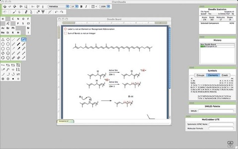 mac chemistry drawing software free