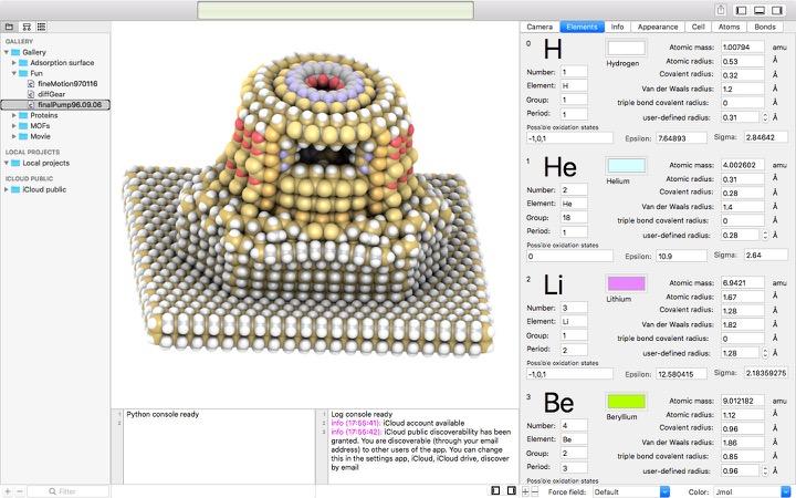 Molecule viewer | Macs in Chemistry