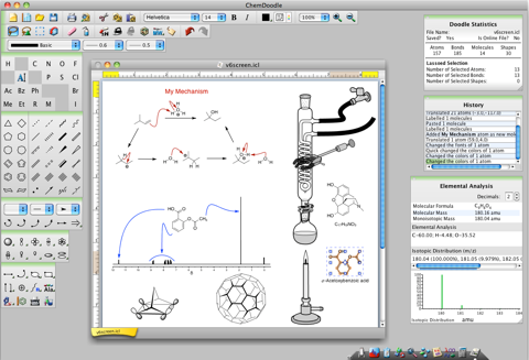 Chemdoodle 6 Released Macs In Chemistry