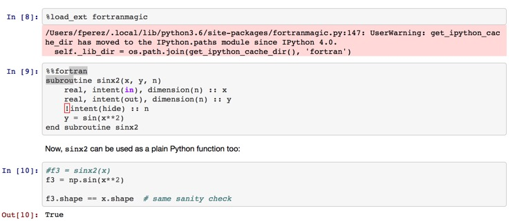 Jupyter and Fortran   Macs in Chemistry