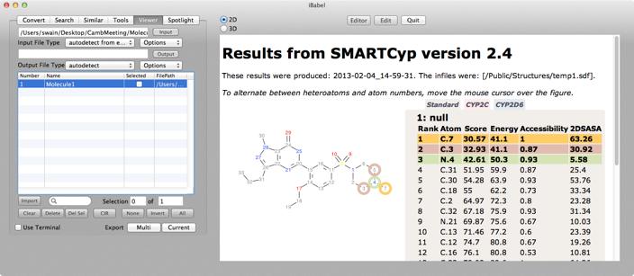iBabel 3 0 | Macs in Chemistry