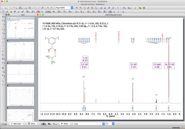 Mnova Review   Macs in Chemistry